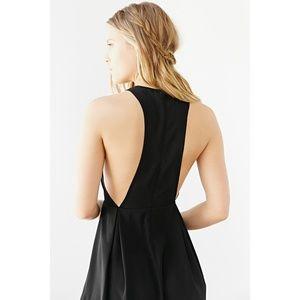 NWOT Ecote black open back dress